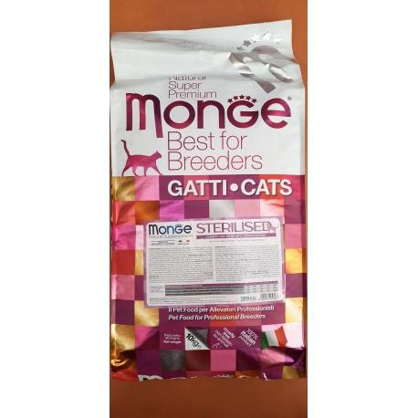 MONGE ADULT CAT STERILIZZATO 10 KG