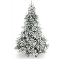"""Abete di Natale Innevato """"Andorra"""" 210cm"""