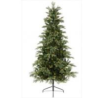 """Abete di Natale """"SUNNDAL"""" 240cm con MicroLED"""