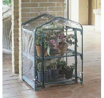 serra da giardino azalea 2 ripiani 70x50xh92