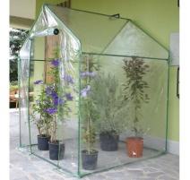 serra da giardino a casetta clematis 155x155x205