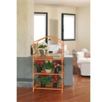 serra da giardino azalea 3 ripiani arancio