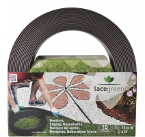 bordura lacogreen 120mmx5mt cacao